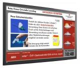 Xibo Anwendungsbeispiel Info-Board