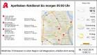 Apotheken-Notdienstanzeige Format 16:9 Multiregion